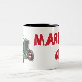 Huber Tractor - Marion, Ohio Two-Tone Coffee Mug