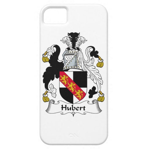 Hubert Family Crest iPhone 5 Covers