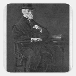Hubert George de Burgh-Canning Square Sticker