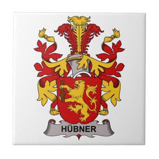 Hubner Family Crest Tile