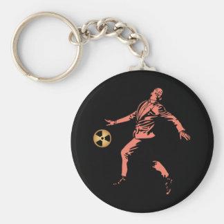 Hubris Ball Basic Round Button Keychain