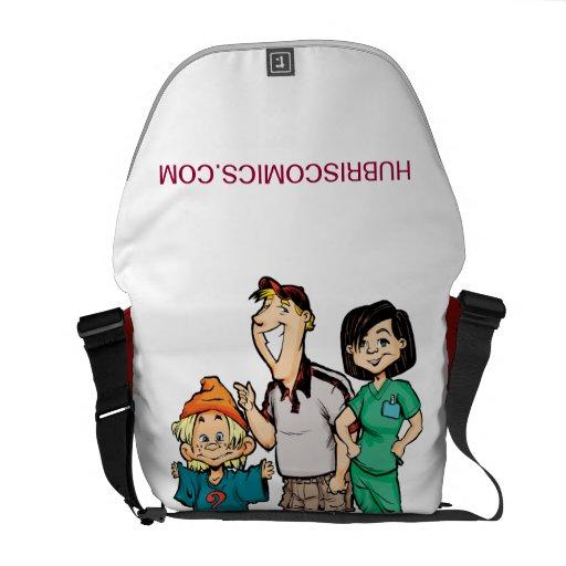 Hubriscomics messenger bag