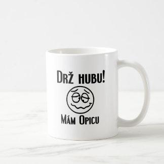 ¡Hubu de Drž! Mám Opicu Tazas De Café