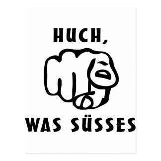 huch, was suesses postcard
