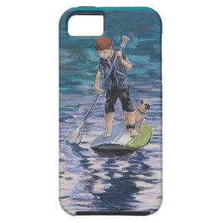 Huck 2015 Boy Adventurer and his Pug dog iPhone SE/5/5s Case