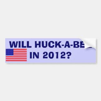 ¿HUCK-A-BEE EN 2012? PEGATINA PARA AUTO