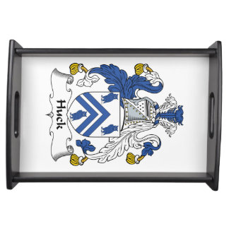 Huck Family Crest Serving Tray