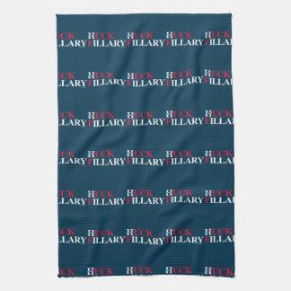 Huck Fillary - - Anti Hillary Kitchen Towels