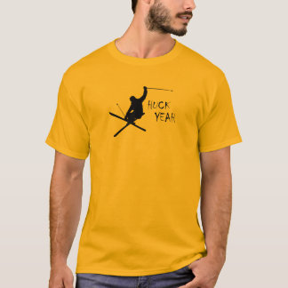 Huck Yeah (Skiing) T-Shirt