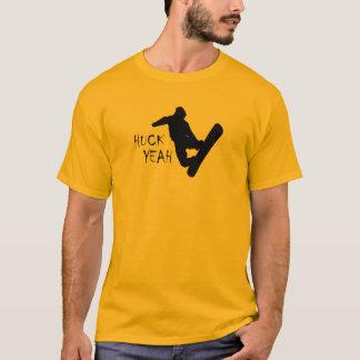 Huck Yeah (Snowboarding) T-Shirt
