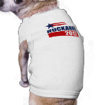 Huckabee 2012 doggie tee shirt