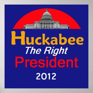 HUCKABEE 2012 Huge Poster Print