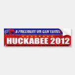 Huckabee 2012 Mike Huckabee Bumper Sticker Car Bumper Sticker