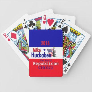 HUCKABEE 2016 CARTAS DE JUEGO