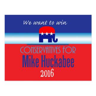 HUCKABEE 2016 POSTCARDS