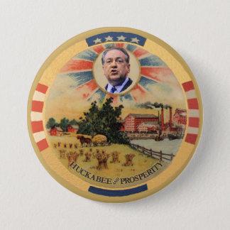 Huckabee and Prosperity Pinback Button