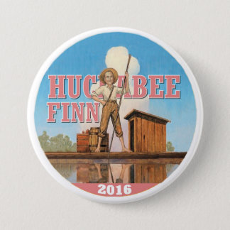 Huckabee Finn 2016 Button