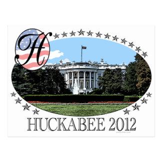 Huckabee White House 2012 Postcard