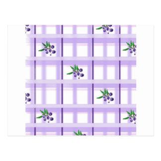 huckelberry plaid postcard