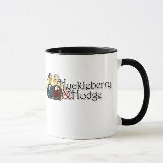 Huckleberry and Hodge mug