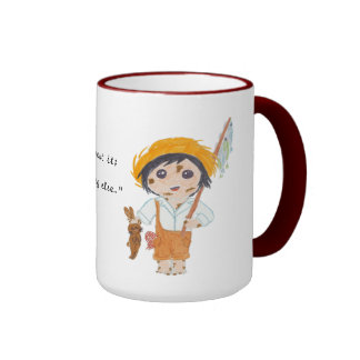 Huckleberry Finn Ringer Mug