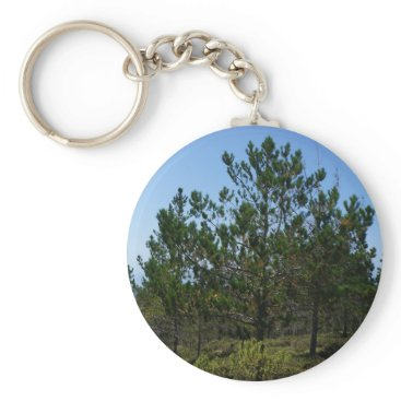 EverydayLifeSF Huckleberry Hill Pebble Beach Button Keychain