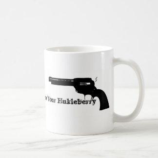 Huckleberry Classic White Coffee Mug