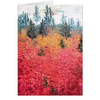 Huckleberry & Pine Card