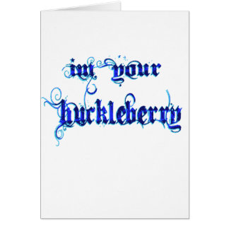 huckleberry quote cards