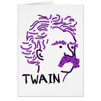 Huckleberry Twain Card
