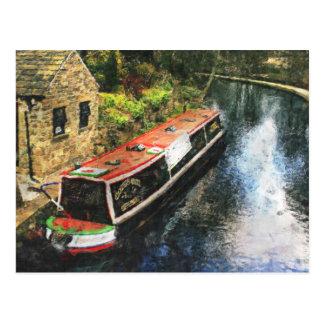 Huddersfield Canal Postcard