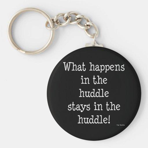 Huddle Keychain
