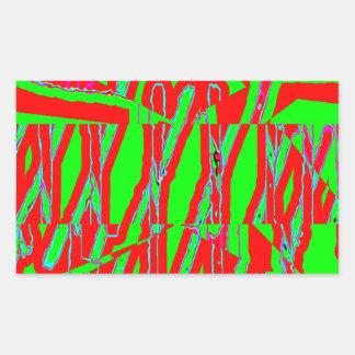 Huddle Muddle 15 Rectangular Sticker