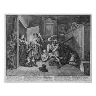 Hudibras Catechiz'd, placa IV Póster