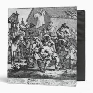 Hudibras Encounters the Skimmington Vinyl Binder