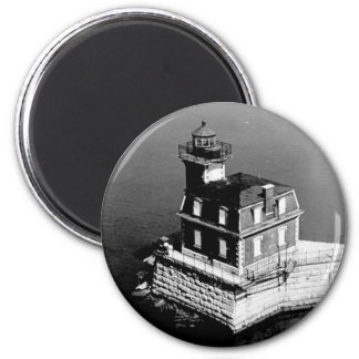 Hudson-Athens Lighthouse 2 Inch Round Magnet