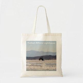 Hudson-Athens Lighthouse Tote Bag