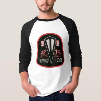 Hudson automobiles black logo remake t shirts