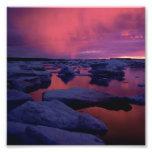 Hudson Bay Sunset Canada Art Photo