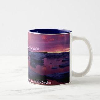 Hudson Bay Sunset , Canada Mugs