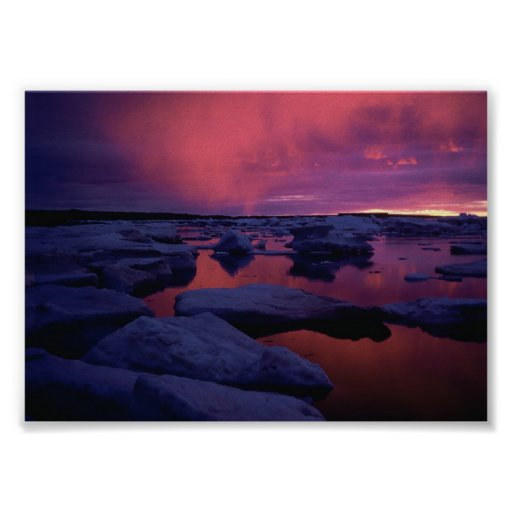 Hudson Bay Sunset Canada Posters