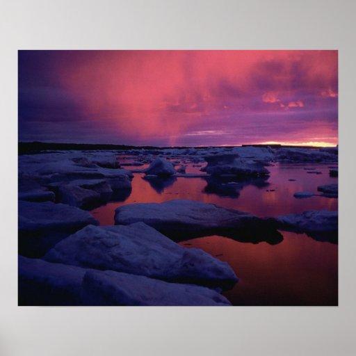 Hudson Bay Sunset Canada Print