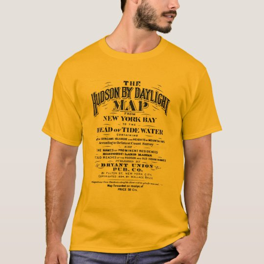 Hudson by Daylight Vintage Ad T-Shirt