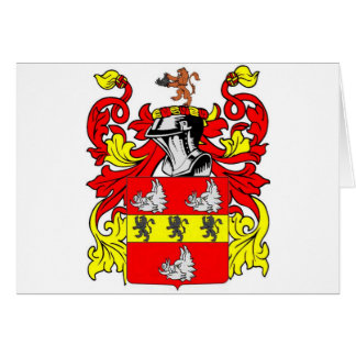 Hudson Coat of Arms Card