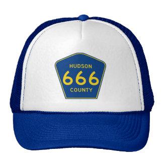 Hudson County New Jersey 666 Trucker Hat