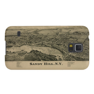 Hudson Falls Sandy Hill New York Map in 1884 Case For Galaxy S5
