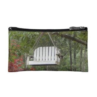Hudson Flower Collection: Garden Swing Makeup Bag