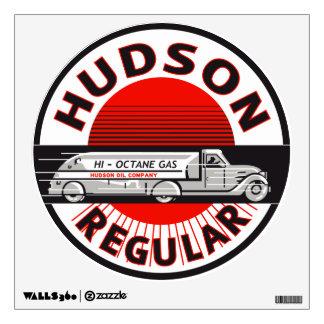 Hudson Gasoline vintage sign Wall Skin