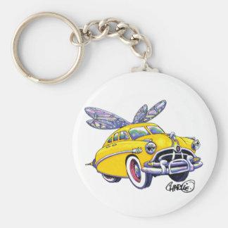 Hudson Hornet Basic Round Button Keychain