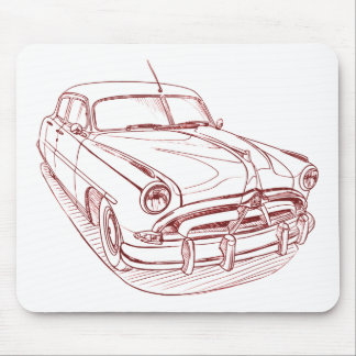 Hudson Hornet Mouse Pad
